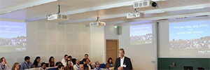 La escuela de negocios Otto Beisheim crea un espacio de aprendizaje conectado con Panasonic y Crestron