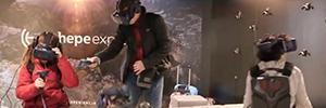 Virtualware da respuesta a los retos de las salas de realidad virtual con Viroo