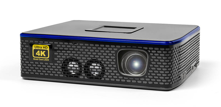 Aaxa 4K 1: mini Led projector with resolution 4K for surfaces of 200