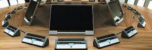 Los monitores AH2 crean un entorno de trabajo óptimo en la nueva sede de CaixaBank