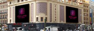 Cines Callao renueva sus pantallas digitales en pro de la calidad de imagen y la eficiencia Led