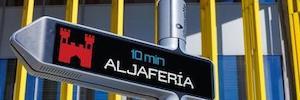 DiiMD prueba en Zaragoza la primera señal digital interactiva y direccionable iGirouette