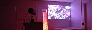 Southpaw lleva los proyectores LightScene al entorno de la terapia ocupacional