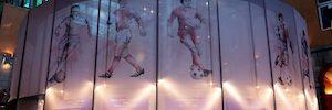 APD realiza el diseño y la ejecución de la exposición 'Champions Legends Gallery' en Madrid