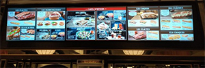 Los restaurantes Viena siguen apostando por el digital signage para ofrecer locales cada vez más modernos