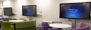 Las pantallas de Clevertouch fomentan el aprendizaje colaborativo en la Universidad de Leeds