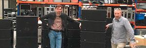 Los recintos Meyer Sound Leopard se suman a la oferta de Sclat Team de eventos corporativos
