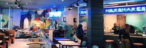 The Sensory Lab aporta cartelería digital y ambientación musical a la nueva imagen de Tommy Mel's