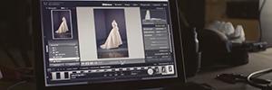 El museo Thyssen utiliza los proyectores de Canon para rendir homenaje al diseñador Balenciaga