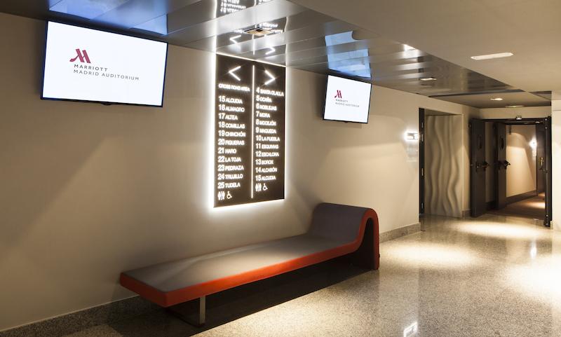 Marriott Auditorium Hotel Madrid focuses the guest