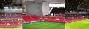 El sonido ArenaMatch de Bose Pro juega por primera vez en el estadio de fútbol del PSV Eindhoven