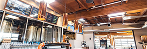 La cervecería Crux amplía sus instalaciones con un sistema de sonido en red de Symetrix