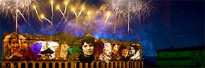 Acciona vuelve a encargarse del espectáculo audiovisual y pirotécnico de los 'Fuegos del Apóstol'