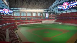 Daktronics con Rangers de Texas