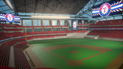 Daktronics with Texas Rangers