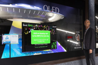 LG OLED at Harrods