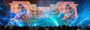 El Museo del Prado finaliza la celebración de su bicentenario con un espectacular mapping 3D en su fachada