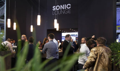 Meyer Sound Sonic Lounge