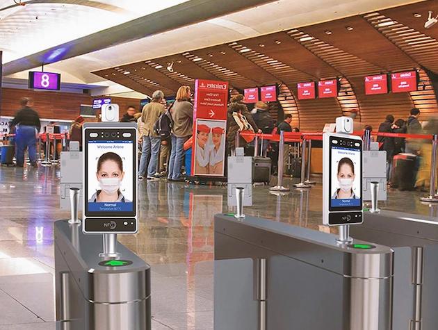 SysconFace: pantalla de reconocimiento facial y detección de temperatura  para instalaciones