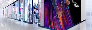 Philips serie 7000: pantallas Led de alto brillo para instalaciones creativas