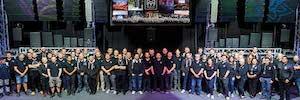 Martin audio 50 anos equipo