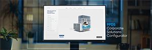 PPDS desarrolla un configurador corporativo para crear la perfecta solución AV personalizada
