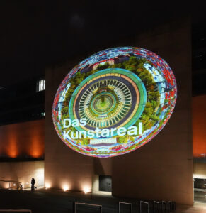 Sara Kurig Kunstareal Digital Projection