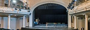 El Teatro Nowy de Zabrze se renueva con el sistema intercom de AEQ