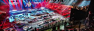 Claypaky dará vida al escenario del Festival de Eurovisión 2021