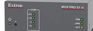 Extron IPCP Pro S1 xi: control centralizado para aplicaciones AV exigentes