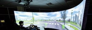 Vioso calibra el avanzado simulador de ST Engineering Antycip para vehículos autónomos